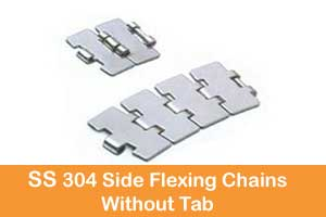 SS 304 flat top chain India