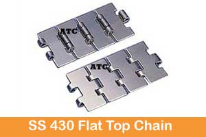 S.S. 430 Straight Running Chain Single Hinge (Magnetic)