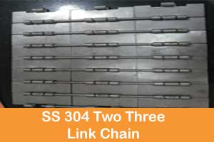 SS 304 two-three link chain manufacturers